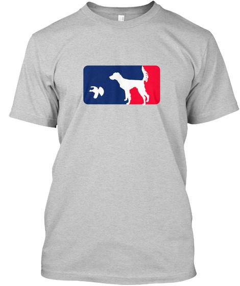 Setter Spring Training Shirt   Grouse Light Steel T-Shirt Front