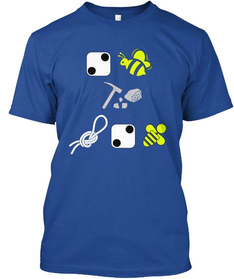 Hamlet Puzzle Shirt Deep Royal T-Shirt Front