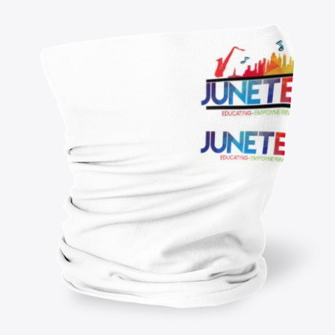 Juneteenth Neck Gaiter  Standard T-Shirt Side