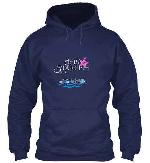 His Starfish Jillian Elizabeth Out Of The Storm Navy T-Shirt Front