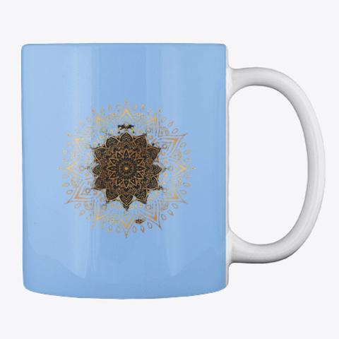 Royal Luxury Mug Powder Blue T-Shirt Back