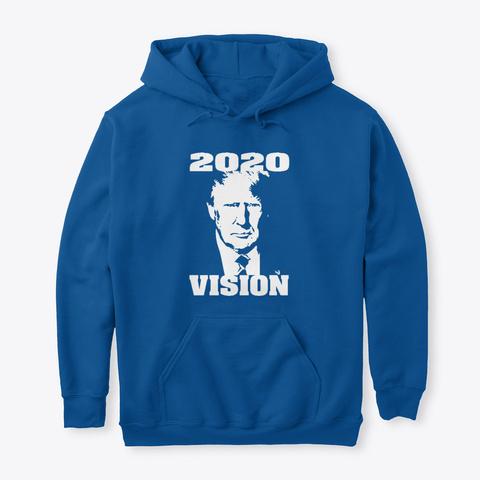 Trump 2020 Vision Royal T-Shirt Front