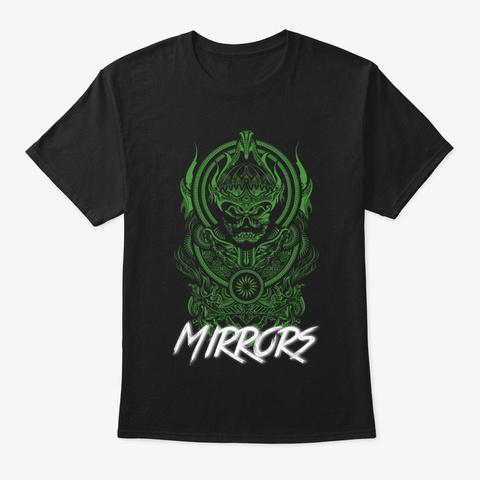 Green Warrior  Black T-Shirt Front