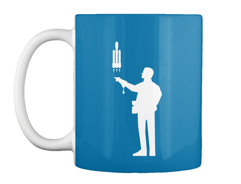 Falconer 4 Man Mug [Int] #Sfsf Royal Blue Mug Front