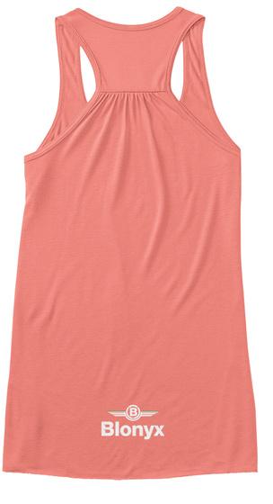 B Blonyx Coral Women's Tank Top Back