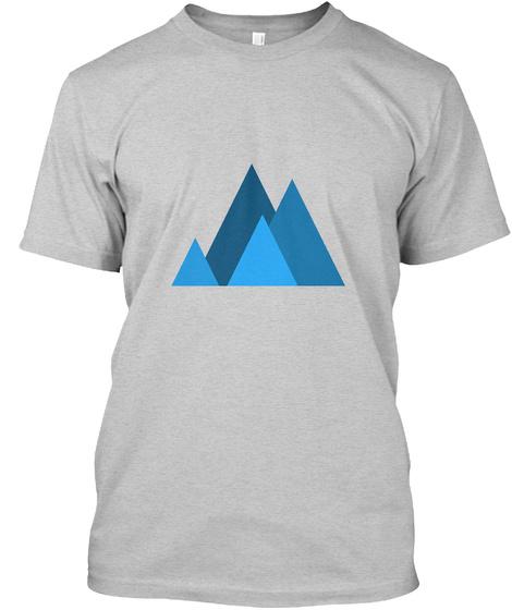 Art Trend Light Steel T-Shirt Front