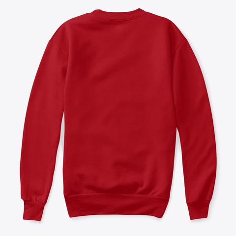 Merry Hmongxmas Art Deep Red  T-Shirt Back