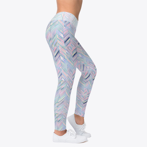 Crystal Ice Leggings Standard T-Shirt Right