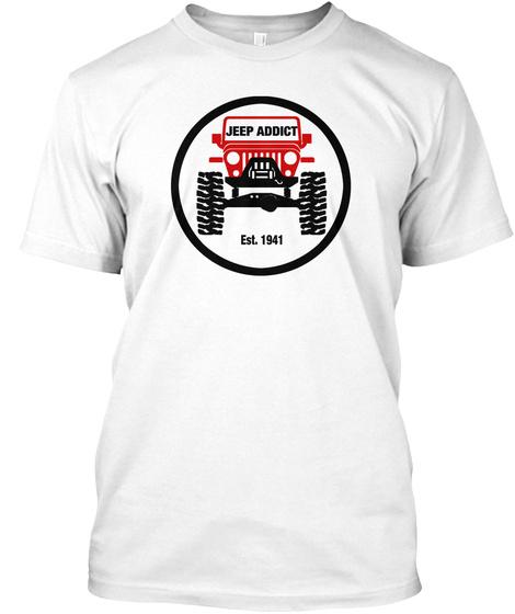 Jeep Addict SIGNATURE Collection Unisex Tshirt