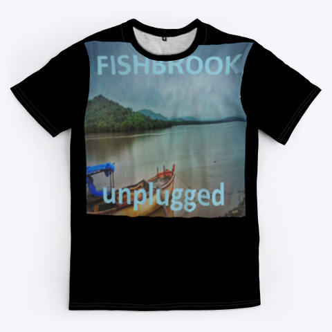 Fishbrook Fish One Black T-Shirt Front