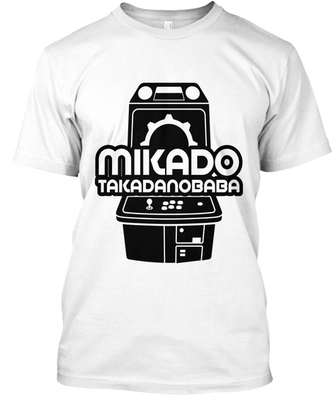 Mikado Takadanobaba White T-Shirt Front