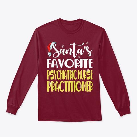 Favorite Psychiatric Nurse Practitioner Cardinal Red T-Shirt Front
