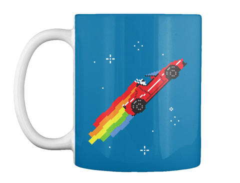 Nyan Roadster Mug [Int] #Sfsf Royal Blue Mug Front