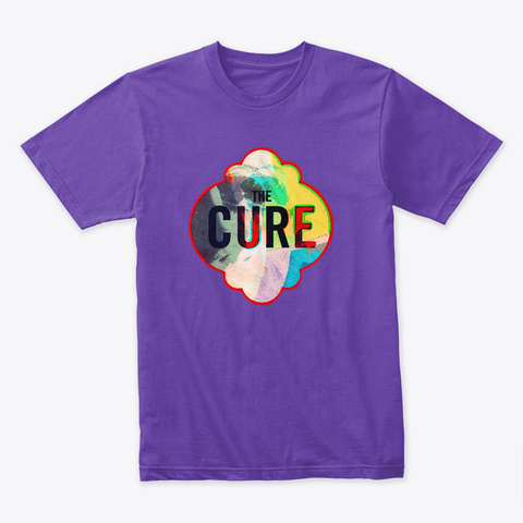 Tribute To The Cure Ii  Purple Rush T-Shirt Front