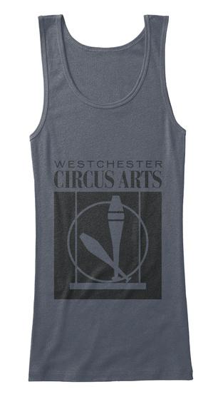 Teen/Adult Circus Tank Deep Heather T-Shirt Front