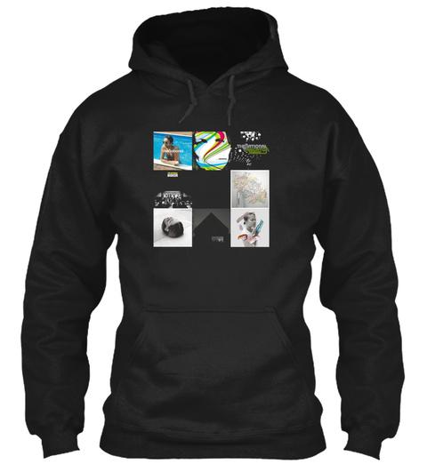 The National Tous Les Albums Black T-Shirt Front