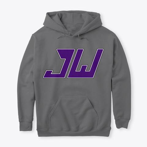 Purple Jw Logo Dark Heather T-Shirt Front