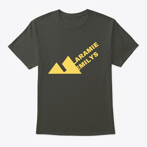 Laramie Emilys Merch  Smoke Gray T-Shirt Front