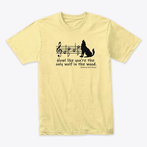 Howl Banana Cream T-Shirt Front
