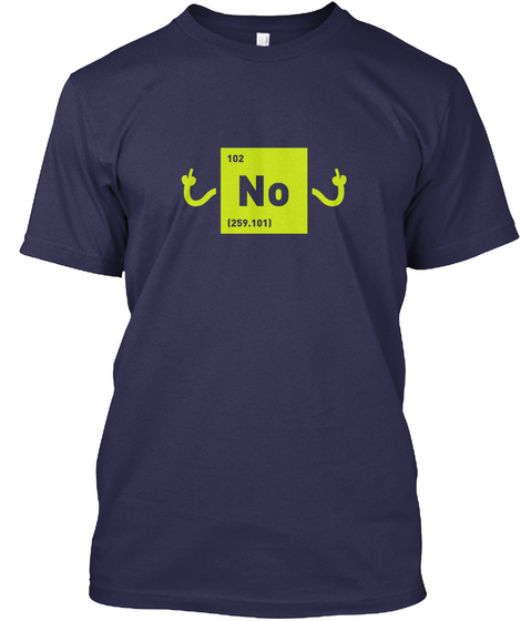 102 No (259.101) Navy T-Shirt Front