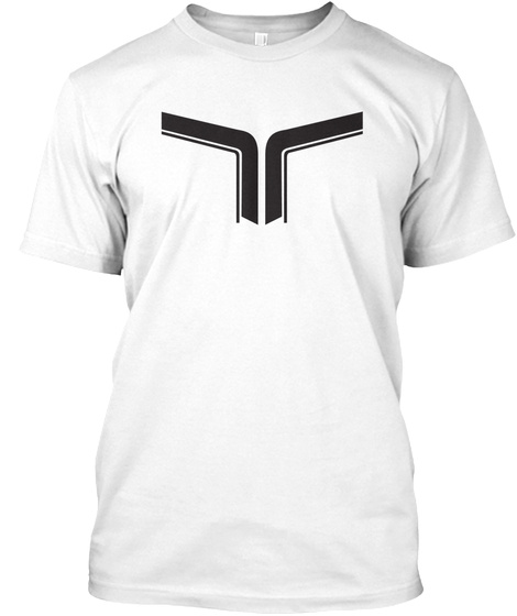 Ampere Clothing T Shirt Ink W White T-Shirt Front
