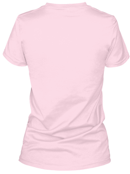 Baseball   My Grandson   Vneck Pale Pink T-Shirt Back