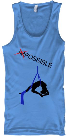 Impossible Carolina Blue T-Shirt Front