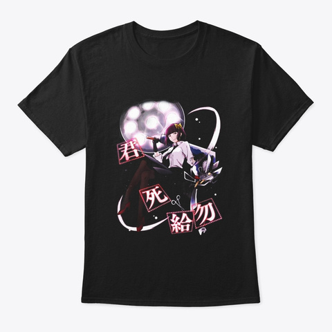 Bungo Stray Dogs T Shirt Black T-Shirt Front