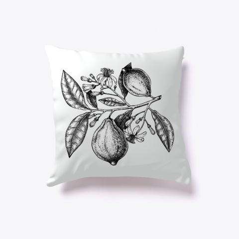 """Fruit Sketch"" Canvas And Pillow Standard T-Shirt Front"