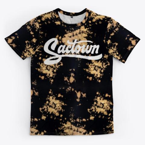 Sactown   Gold Rush Wash Standard T-Shirt Front