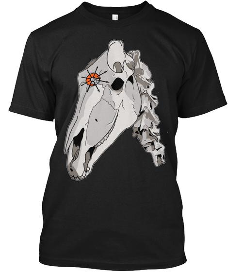 Dark Skull Prawns Of Chaos Tee Black T-Shirt Front