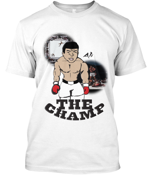 The Champ White T-Shirt Front