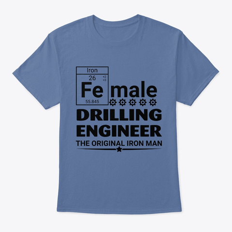 Female Drilling Engineer Unisex Tshirt