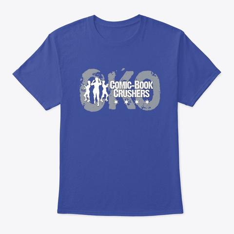Cko Crushers Logo Deep Royal T-Shirt Front