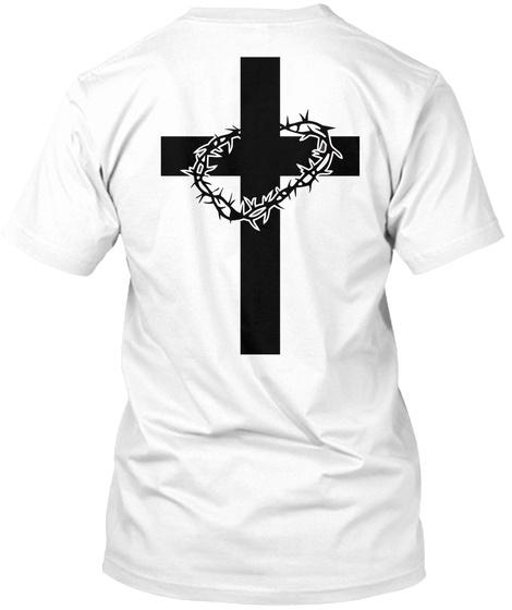 Proud Son Of God Clothing ✝ White T-Shirt Back