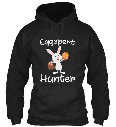 Eggspert Hunter Black T-Shirt Front