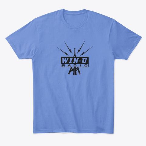 Winu Radio Heathered Royal  T-Shirt Front