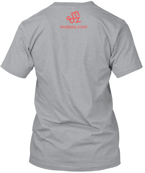 Nifty Pentominoes Heather Grey T-Shirt Back