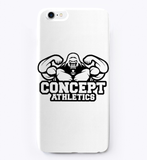 Concept Athletics Phone Case  Standard T-Shirt Front