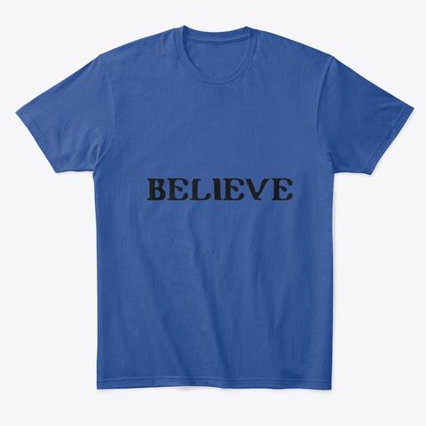 Camiseta De Qualidade Deep Royal Camiseta Front