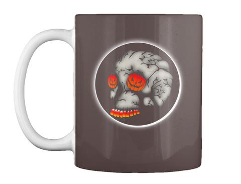 Halloween Mug Dk Brown Mug Front