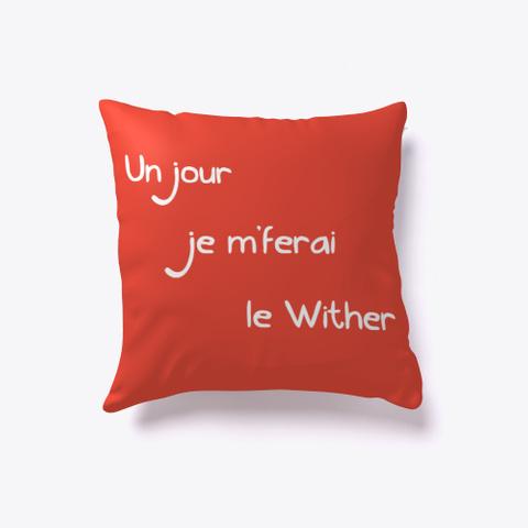 """""""Sur La Lune""""   M Colo Red T-Shirt Back"""