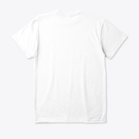White Edm7 T Shirt White T-Shirt Back