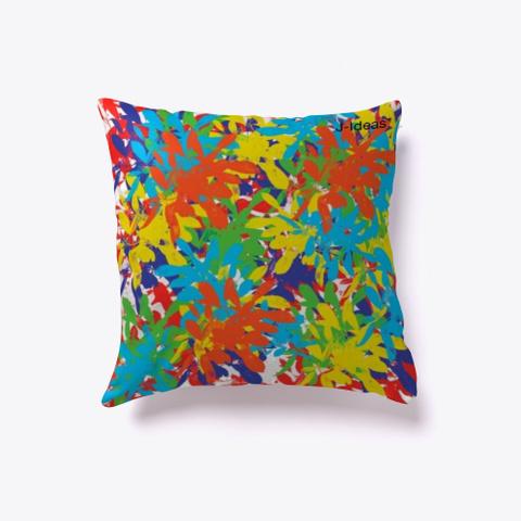 J Ideas* Colorful Pillow Standard T-Shirt Back
