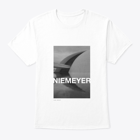 Niemeyer 001 White T-Shirt Front