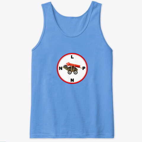 Lpnn The Tank Carolina Blue T-Shirt Front