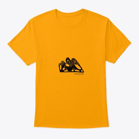 Leda And The Swan   Kosovo Gold T-Shirt Front