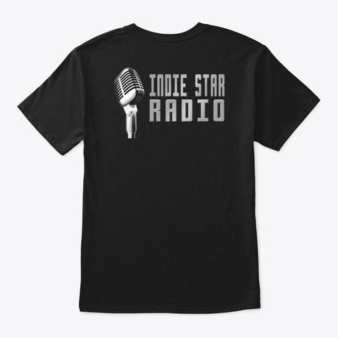 Official Indie Star Radio Mic Tshirt Black T-Shirt Back