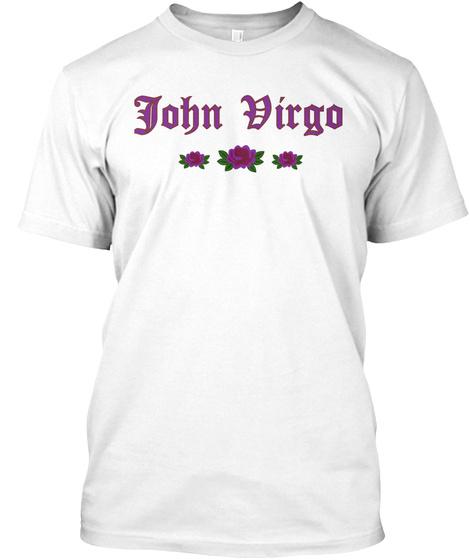 John Dirgo White T-Shirt Front