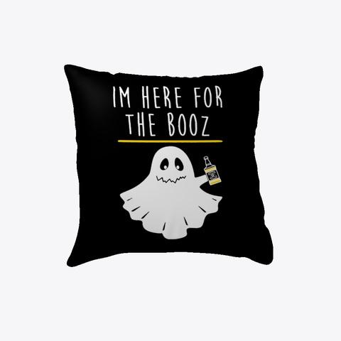 Halloween Booz Pillow Black T-Shirt Front